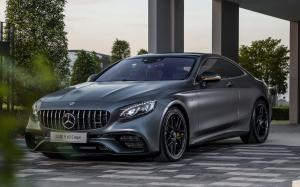 Mercedes-AMG S63 4Matic+ Coupe Yellow Night Edition 2018 года (MY)