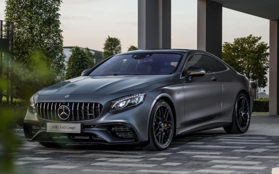 Mercedes-AMG S63 4Matic+ Coupe Yellow Night Edition
