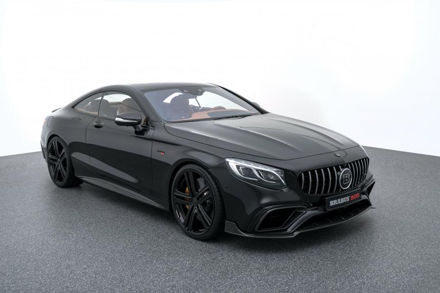 Mercedes-AMG S63 800 Biturbo Coupe by Brabus