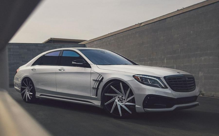 Mercedes-AMG S63 Black Bison by WALD on Forgiato Wheels (Troppo-ECL)