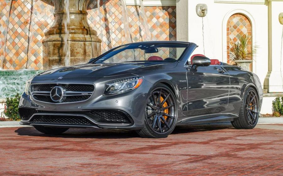 Mercedes-AMG S63 Cabriolet on ADV.1 Wheels (ADV10 TRACK SPEC CS)