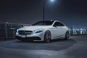 2018 Mercedes-AMG S63 Coupe Pearl White by Exclusive Auto Spa on ADV.1 Wheels (ADV10R M.V2 CS)