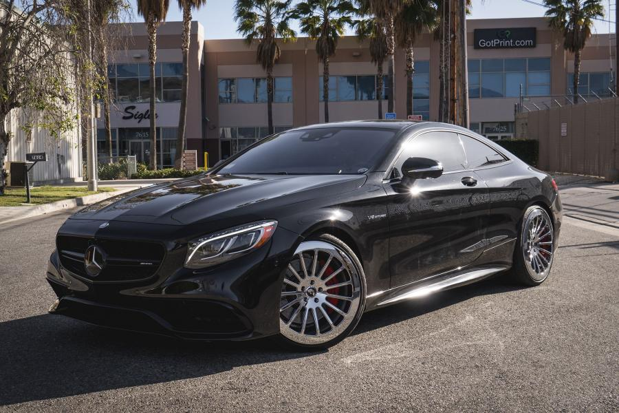 Mercedes-AMG S63 Coupe on Forgiato Wheels (FOH 15)
