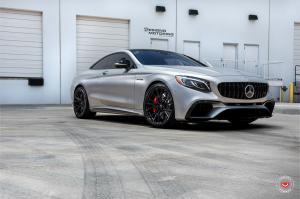 2018 Mercedes-AMG S63 Coupe on Vossen Wheels (M-X3)