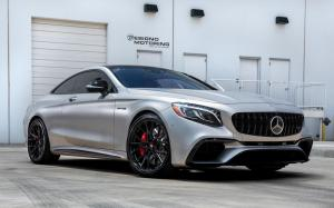 Mercedes-AMG S63 Coupe on Vossen Wheels (M-X3) 2018 года