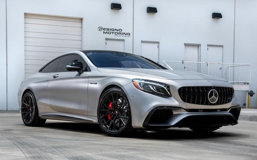 Mercedes-AMG S63 Coupe on Vossen Wheels (M-X3)