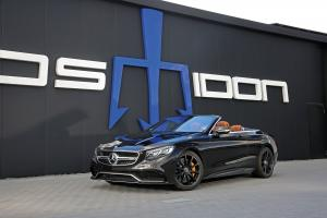 2018 Mercedes-AMG S63 RS 850+ Cabriolet by Posaidon