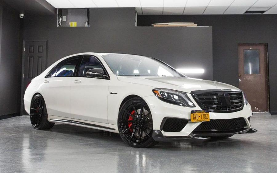 Mercedes-AMG S63 on ADV.1 Wheels (ADV10R M.V2 CS)