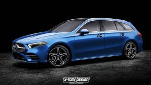 Mercedes-Benz A-Class Estate by X-Tomi Design 2018 года