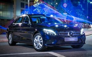 Mercedes-Benz C200 EQ Boost 2018 года (LA)