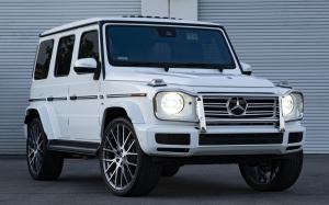 Mercedes-Benz G500 on Forgiato Wheels (FLOW 001) 2018 года