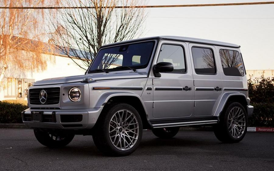 Mercedes-Benz G550 by SR Auto Group on PUR Wheels (PUR FL25)