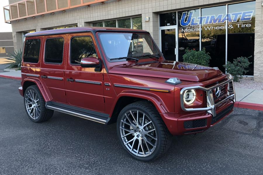Mercedes-Benz G550 on Forgiato Wheels (FLOW 001)