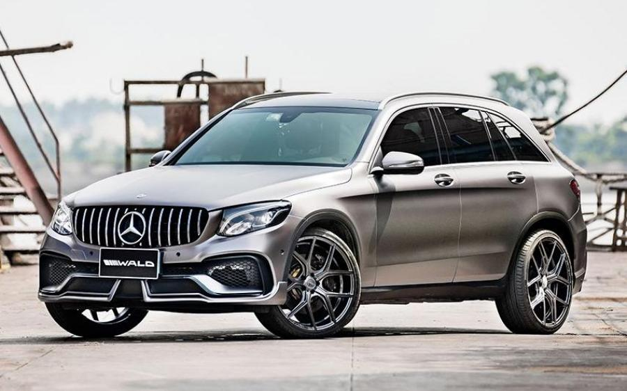 2018 Mercedes-Benz GLC-Class Black Bison Edition by Wald (CN)
