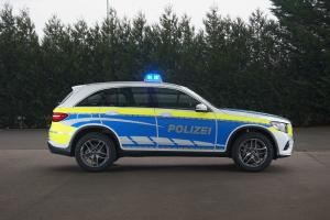 Mercedes-Benz GLC350 e 4Matic Polizei 2018 года