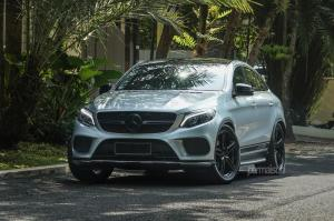 2018 Mercedes-Benz GLE400 Coupe 4Matic on Vossen Wheels (HF-1)