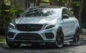 Mercedes-Benz GLE400 Coupe 4Matic on Vossen Wheels (HF-1) 2018 года