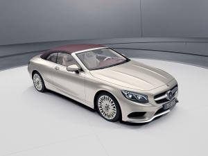 2018 Mercedes-Benz S-Class Cabriolet Exclusive Edition