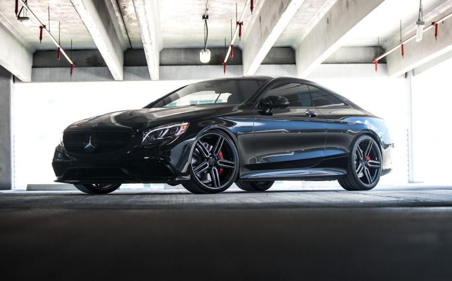 Mercedes-Benz S-Class Coupe on Vossen Wheels (HF-1)