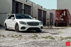 Mercedes-Benz S-Class on Vossen Wheels (HF-2) 2018 года