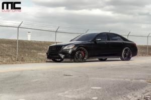 2018 Mercedes-Benz S550 4Matic Black by MC Customs