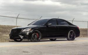 Mercedes-Benz S550 4Matic Black by MC Customs 2018 года