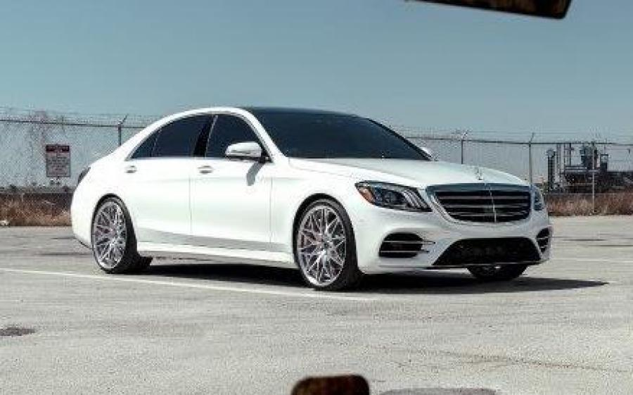 Mercedes-Benz S550 4Matic White by MC Customs