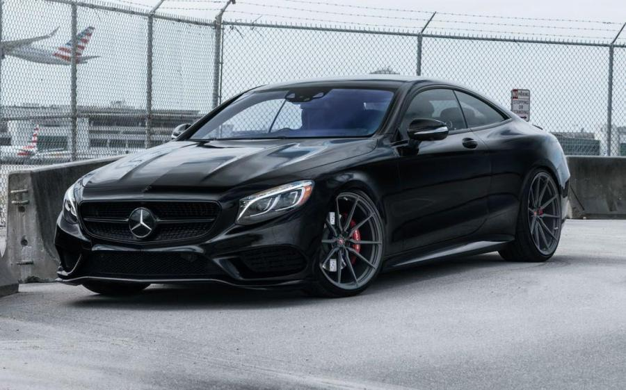 Mercedes-Benz S550 Coupe 4Matic on Vossen Wheels (M-X2)
