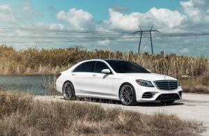 2018 Mercedes-Benz S560 4Matic by MC Customs on ADV.1 Wheels (ADV10R TRACK SPEC SL)