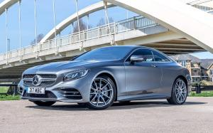 Mercedes-Benz S560 Coupe AMG Line 2018 года (UK)