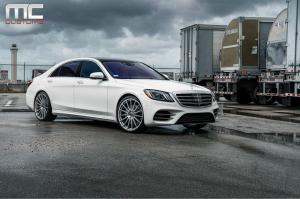 2018 Mercedes-Benz S560 by MC Customs on Avant Garde Wheels