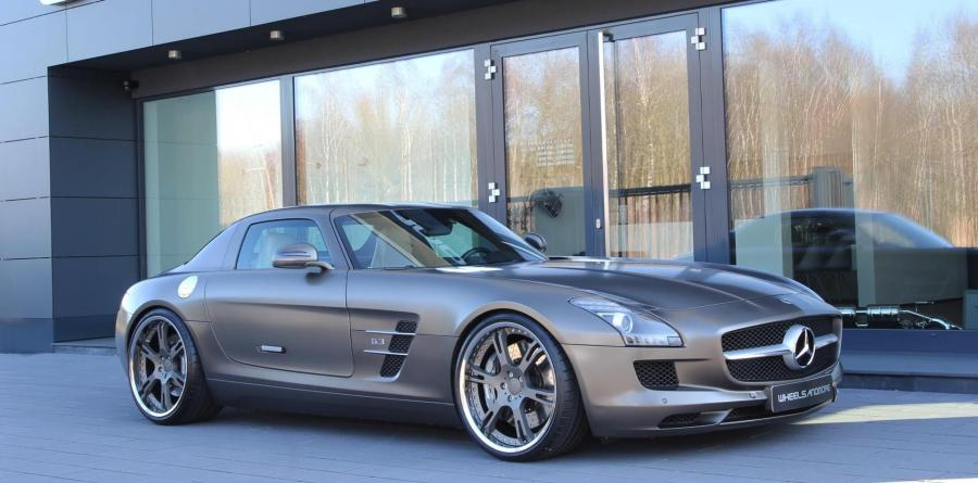 Mercedes-Benz SLS AMG by Wheelsandmore