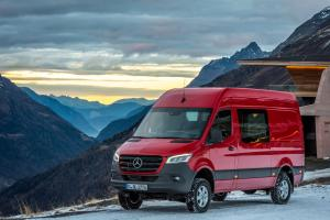 2018 Mercedes-Benz Sprinter 319 CDI 4x4 Panel Van