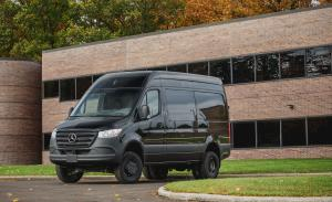 2018 Mercedes-Benz Sprinter 3500 XD 4x4 Panel Van
