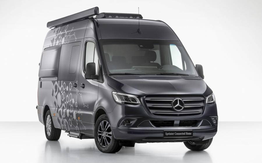 Mercedes-Benz Sprinter Connected Home