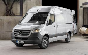 Mercedes-Benz Sprinter Panel Van 2018 года (UK)