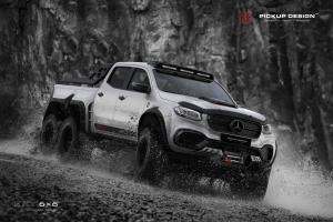2018 Mercedes-Benz X-Class EXY 6x6 by Pickup Design