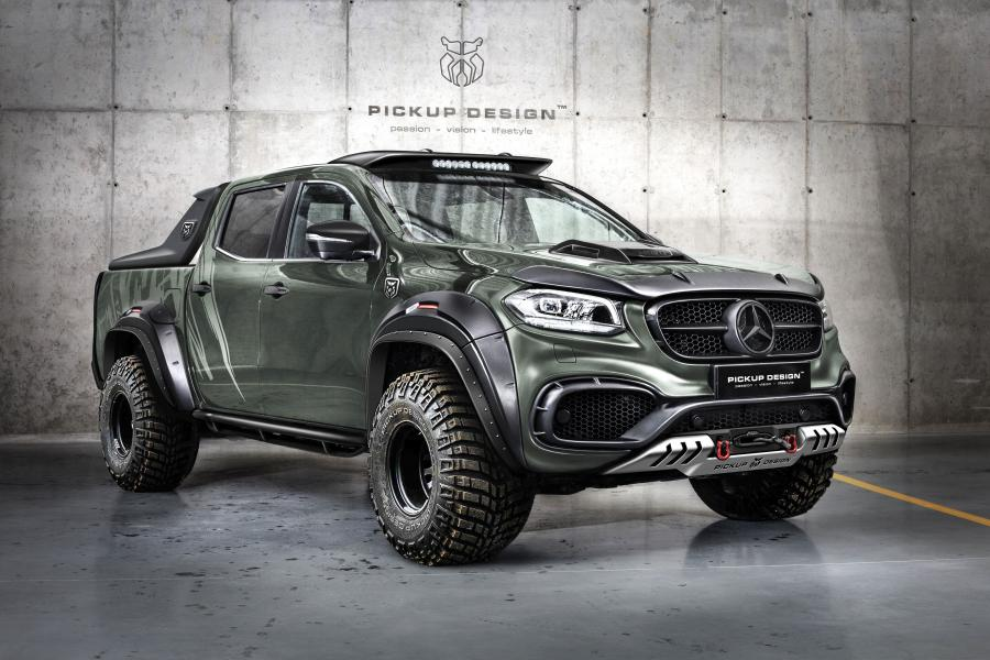 Mercedes-Benz X-Class Exy OFF-ROAD by Carlex Design