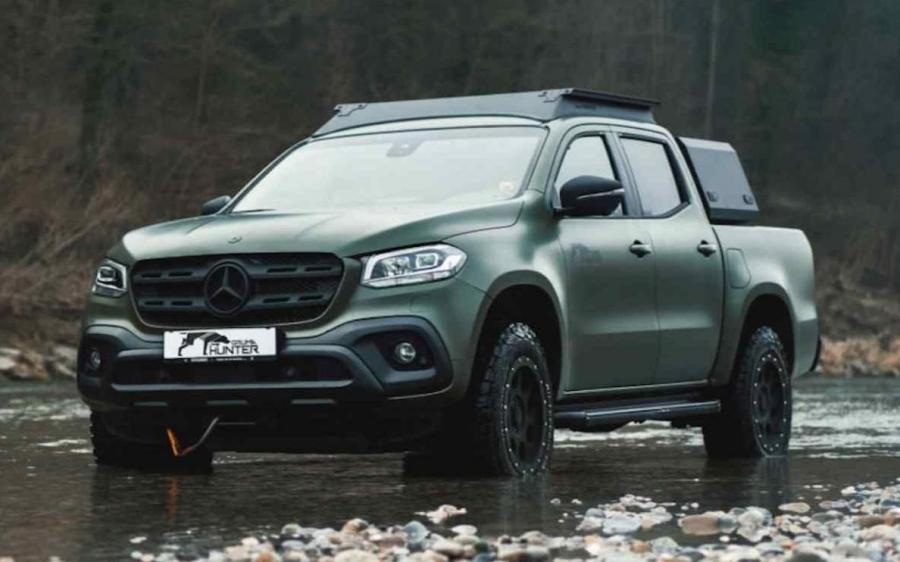 Mercedes-Benz X-Class Hunter by Gruma