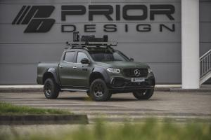 Mercedes-Benz X-Class PD550 Widebody Aerodynamik-Kit by Prior Design 2018 года