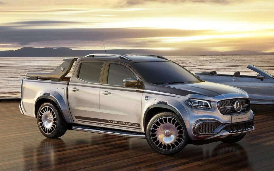 Mercedes-Benz X-Class Yachting Edition by Carlex Design