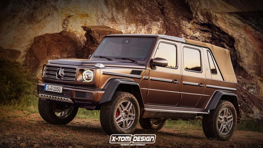 Mercedes-Maybach G650 Landaulet by X-Tomi Design