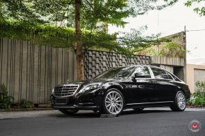 2018 Mercedes-Maybach S500 4Matic by MC Customs on Vossen Wheels (GNS-3)