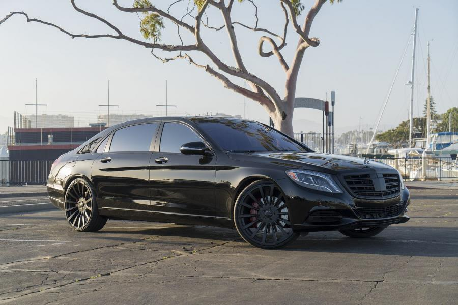2018 Mercedes-Maybach S600 by GSquared Design on Forgiato Wheels (Piatto-M)
