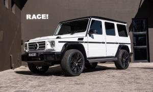2018 Mercedes-Benz G350d by RACE! on Vorsteiner Wheels