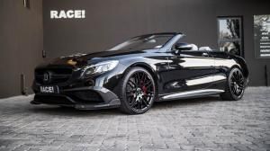 2018 Mercedes-AMG S63 Cabriolet by Brabus & RACE!