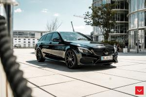 2019 Mercedes-AMG C43 4Matic Estate on Vossen Wheels (CVT)