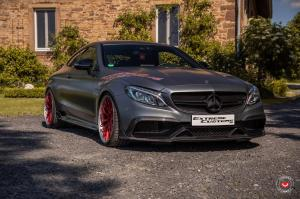 2019 Mercedes-AMG C63 Coupe by Extreme Customs & Brabus on Vossen Wheels (S17-01 (3-Piece))