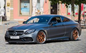 Mercedes-AMG C63 Coupe by Extreme Customs on Vossen Wheels (CG-209T (3-Piece)) 2019 года