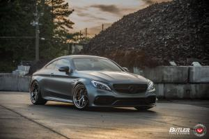 Mercedes-AMG C63 S Coupe by Butler on Vossen Wheels (S21-01 (3-Piece)) 2019 года